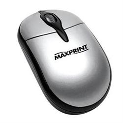 MOUSE PS2 MAXPRINT PRATA/PRETO 60527-5