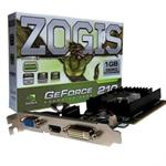 PLACA VIDEO 1GB ZOGIS GEFORCE GT210 DDR3 64BITS