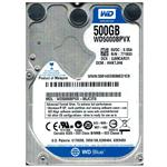 HD NOTEBOOK 500GB WESTERN DIGITAL BLUE 5400RPM