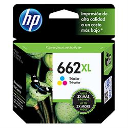 CARTUCHO HP 662XL COLOR CZ106AB 8 ML*