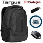 KIT TARGUS (MOCHILA/PEN 4GB/ANTI-VIRUS/MOUSE)