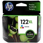 CARTUCHO HP 122 XL COLOR CH564HB 7,5ML*