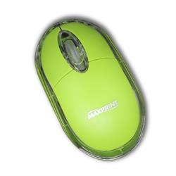 MOUSE USB MAXPRINT VERDE 601203-4