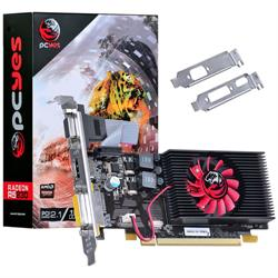 PLACA VIDEO 1GB PCYES RADEON R5 230 DDR3 64BITS