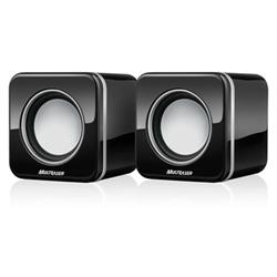 MINI CAIXA SOM MULTILASER 4WRMS USB BLACK SP089
